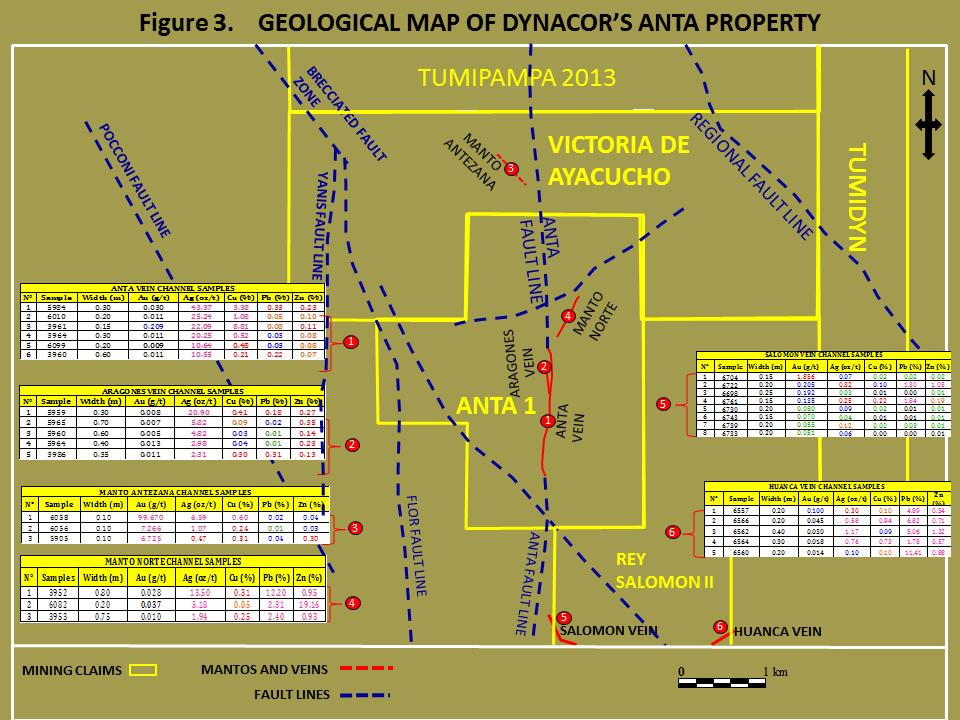 Anta Geological Map